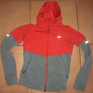 Nike Wmns gray and orange size M